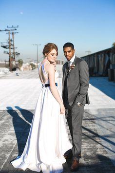 5dde8c54f73fc A Mix of Classic and Modern Styled Shoot in Los Angeles. Wedding BlogLace  WeddingsLos AngelesLace Wedding Dress