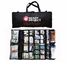 Professional Medical Emergency Kit  AllInOne Life Saving Portable Survival Kit  Emergency Preparedness Essential Package for life * Check this awesome product by going to the link at the image. This is an Amazon Affiliate links.