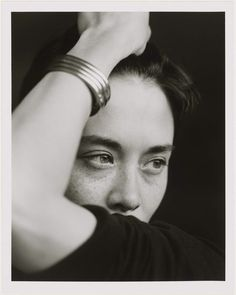 Tina Chow I | Museum of Fine Arts, Boston. PH by Herb Ritts, 1988.