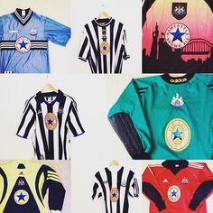 41de42dec41 Iconic Kits ( iconickits) • Instagram photos and videos. Newcastle United  FootballVintage ...