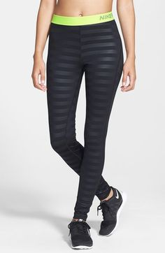 3be69a549e22cb Free shipping and returns on Nike  Pro  Dri-FIT Embossed Compression Tights  at