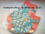 Háčkované ponožky | Mimibazar.cz Crochet Hats, Slippers, Socks, Bebe, Knitting Hats, Slipper, Sock, Stockings, Ankle Socks