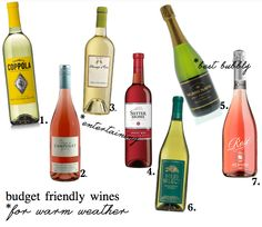 Best Cheap Wines For Warm Weather