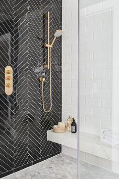 5 Bathroom Design Ideas That Show Why It's Time for an Upgrade Badezimmer Einrichtung Badezimmer Fliesen Ideen 🎗 Bathroom Tile Designs, Bathroom Interior Design, Modern Interior Design, Art Deco Bathroom, Bathroom Tile Patterns, Teen Bathroom Decor, Art Deco Tiles, Marble Interior, Decorating Bathrooms