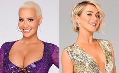 "Amber Rose Says Julianne Hough Body Shamed Her With Her 'DWTS' Comment   The 32-year-old model felt 'body shamed' when the 'DWTS' judge said she was 'uncomfortable' to see Amber's sexy salsa routine. Amber Rose may be disappointed with her latest score on ""Dancing with the Stars"" but she is more upset with Julianne Hough's remark. The 32-year-old model takes issue with the pro-dancer's comment on her sexy salsa routine with her dancing partner Maksim Chmerkovskiy on Monday's (September 26)…"