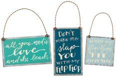 Flip Flop Love Ornaments