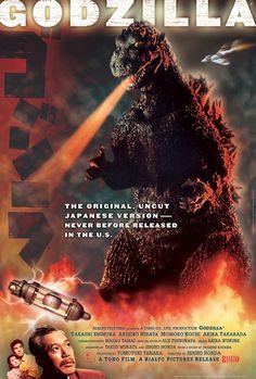 Gojira (1954) - Rialto 50th Anniversary US theatrical release of GODZILLA, 2004