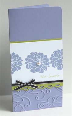 Like the format and selective embossing (not overdone)--lovely!