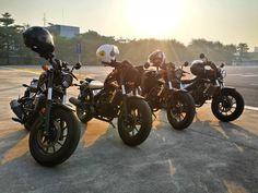เตรยมพรอม  Ready for a trip.  #hondarebel #rebel300 #hondamotorcycles #honda #moto #motorcycle #newrebel #rebel #cruiser #custombike #bobber #brat #cmx300 #cmx500 #rebel500 #biketrip #motorcyclejourneys