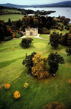 Ross Priory ~ Scotland. Built in 1693 with glorious view over Loch Lomond