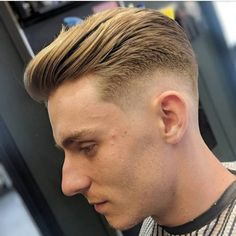 The Latest Gentlemen Hairstyles 2020 Top Hairstyles For Men, Side Part Hairstyles, Wavy Haircuts, Classic Hairstyles, Men's Hairstyles, Top Fade Haircut, Side Part Haircut, Kinds Of Haircut, Haircut Styles
