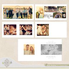 White Wedding Wedding Album Template #Wedding #Albums