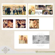 White Wedding Wedding Album Template #Wedding #Albums