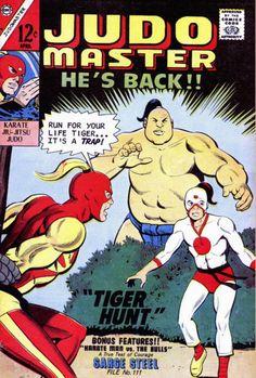 COMIC_judo_master_93 #comic #cover #art