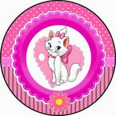 kit personalizados tema gatinha marie