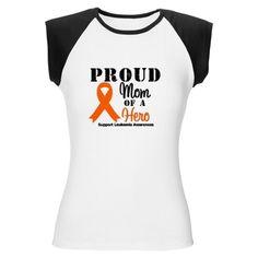 ProudMom Leukemia Hero Women's Cap Sleeve T-Shirt
