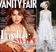 Taylor Swift in Chanel: Vanity Fair April 2013 Cover