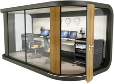 Design and Specify, office design, office furniture, partitioning, office partit… – Office İnterior İdeas Office Cube, Office Pods, Office Fit Out, Small Office, Home Office, Office Interior Design, Office Interiors, Interior Decorating, Backyard Office
