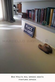 Pavimento in resina BioMalta, Firenze, 2012 - Marcello Gavioli