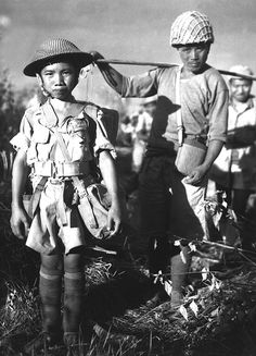 10-year old Chinese soldier (1944)