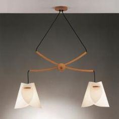 Justice Design DOM-8547 Domus - Two Light Twin Beech Wood Pendant PLUS 1stoplighting.com Pinterest friends save 15% sitewide with coupon code PIN15!