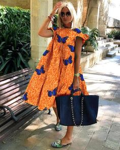 Latest African Fashion Dresses, African Print Fashion, Casual Dresses, Short Dresses, Boho Fashion, Fashion Outfits, Style Fashion, Moda Paris, African Dress