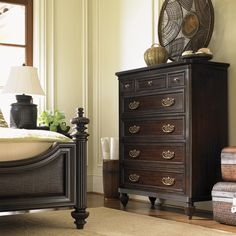 Royal Kahala Seven-Drawer Mauna Chest with Jewelry Storage by Tommy Bahama Home