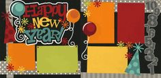 Happy New Year! Page Kit