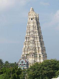 Rameswaram Temple, Tamil Nadu, India.