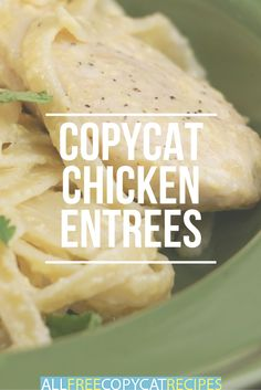 Need a few ideas for winner winner chicken dinners? Try these copycat chicken recipes! These main dishes are delightful.