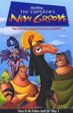 The Emperor's New Groove (2000), starring David Spade, John Goodman. One of Disney's most underrated gems.