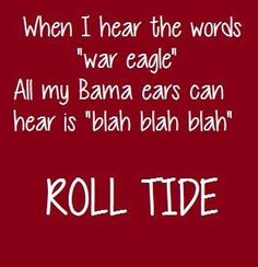 #RTR #Alabama Football   www.RollTideWarEagle.com  sports stories that inform and entertain, plus #collegefootball rules tutorial. Check out our blog and let us know what you think.