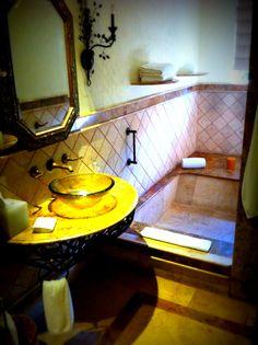 Built in, sunken bathtubs. Mayan Riviera Mexico, Sunken Bathtub, Romantic Resorts, Bathtubs, Bathrooms, House, Ideas, Pretty, Drop In Tub