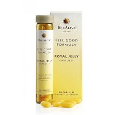 royal jelly  BeeAlive Feel Good Formula Queens Royal Jelly Capsules 30caps