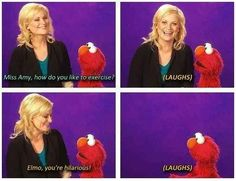 On exercising. | 23 Hilarious Amy Poehler Quotes To Get You Through The Day
