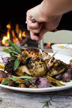 The easiest of Christmas mains: Scarborough Fair chicken