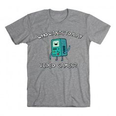 who wants to play video games? b.mo. #adventuretime