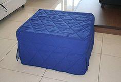 Pouf-lit pliant, lit d'appoint avec matelas en mousse polyuréthane - Couchage 70x200 cm: Amazon.fr: Cuisine & Maison
