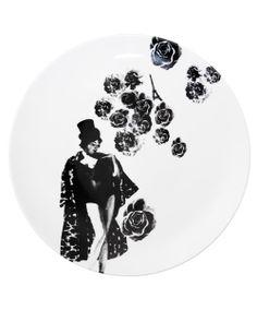 lisa bengtsson Lisa, Plates, Ceramics, Black And White, Tableware, Character, Studio, Licence Plates, Ceramica