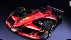 Ferrari reveals its design for an attractive but aggressive Formula One car -- and Red Bull responds with its own concept.