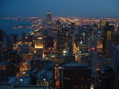 Image detail for -Album » United States » Chicago » Downtown Chicago by night