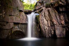 Screw Auger Falls in Bethel, Maine <3