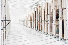 Stedelijk (City) Museum Amsterdam, Netherlands - Bruynzeel Storage Systems