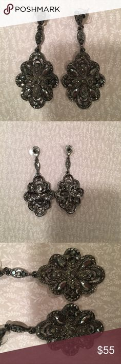 Nordstrom Nadri Chandelier Earrings These pretty earrings have only been worn once for a wedding and are in wonderful condition. Please let me know if you have questions. Nordstrom Jewelry Earrings