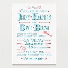 Little Details Invitation - A Printable Press