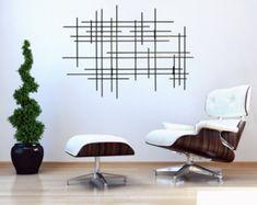 "Metal Wall Sculpture ""Linear"""