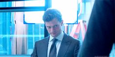 Christian glares at Jose #FiftyShades #MeetFiftyShades