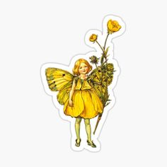 Art Hoe Aesthetic, Aesthetic Drawing, Aesthetic Images, Bubble Stickers, Cute Stickers, Flower Fairies Books, Cute Laptop Wallpaper, Cicely Mary Barker, Indie Art