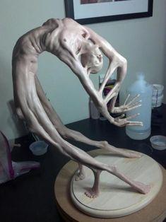 Sculpture by LA artist Matthew J. Levin Sculpture by LA artist Matthew J. Arte Horror, Horror Art, Vanitas, Types Of Photography, Art Photography, Art Sinistre, Arte Peculiar, Instalation Art, Art Sculpture