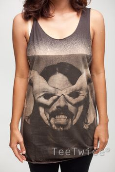 Dave Grohl Shirt Foo Fighters Rock Band Shirts Women by TeeTwice, $15.99